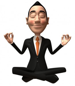 Male doll in suit yoga pose 000007032369S
